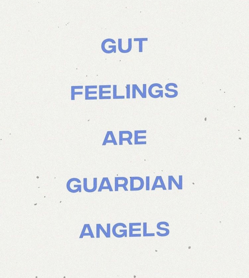 Don't ignore the ol' gut feeling. The angels are whispering messages and it always pays to listen. Happy Monday lovelies #mondaymotivation #intuition #trustyourself #staypositive #staysafe