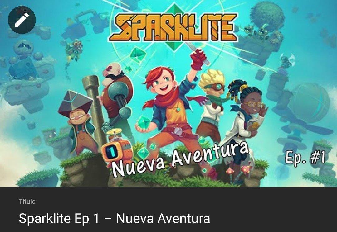 🚨 Una aventura de #Sparklite, para derrotar a los Titanes que tienen aterrorizado a este mundo 🌏    #gamer #agamer02 #videojuegos