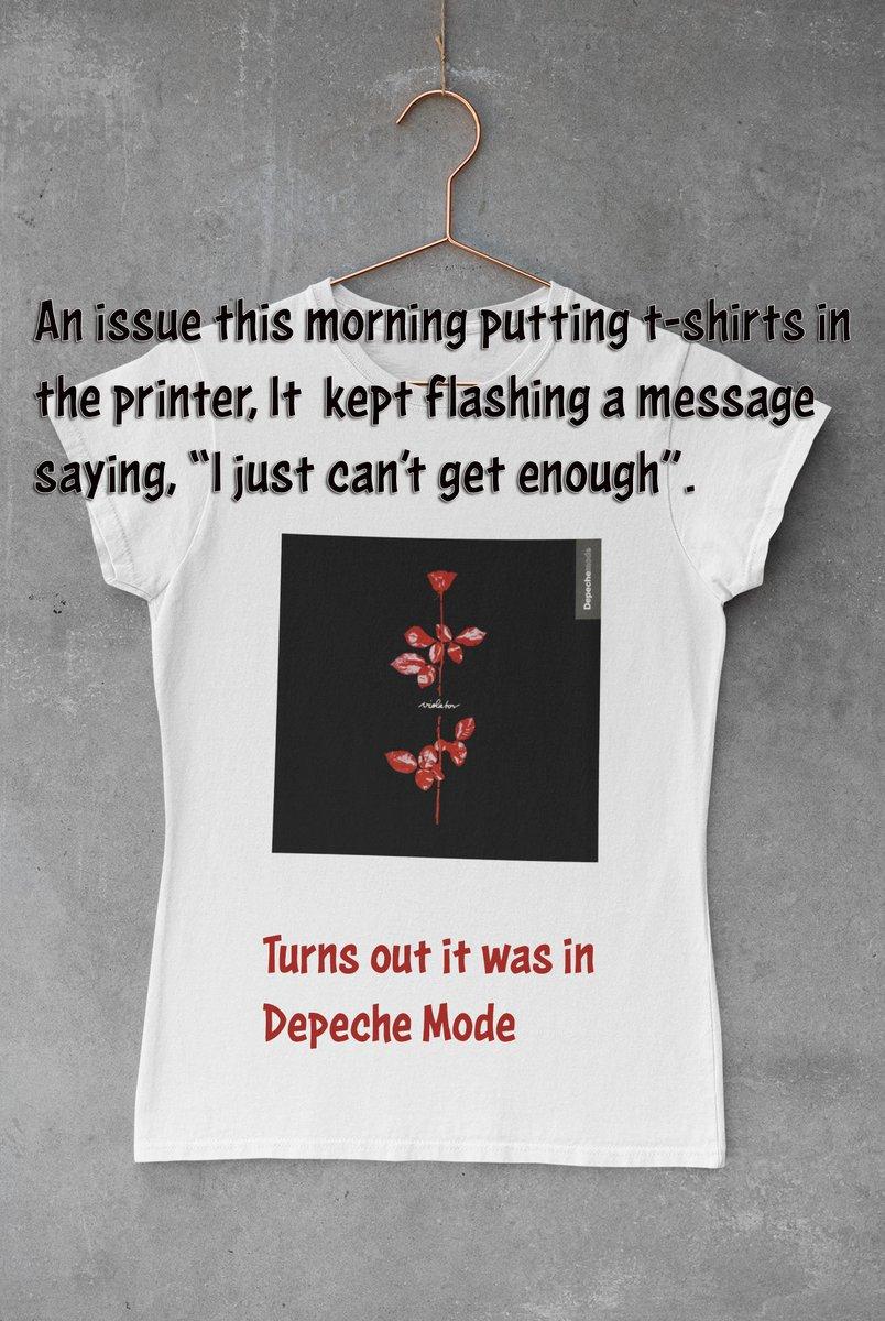 Printer problems ...  #curiousnewt #designyourown #customtshirt #tshirt #funtimes