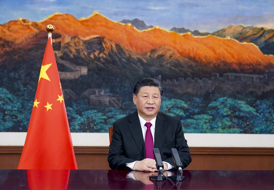 President Xi Jinping calls for multilateralism to light up way forward amid pandemic & world economic recession in his special address at the World Economic Forum (WEF) Virtual Event of the Davos Agenda.   #XinhuaHeadlines: