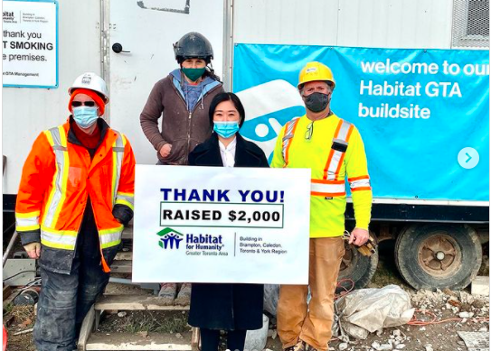 Meet Jia Kim!   A volunteer Crew Leader, who with a lot passion & creativity designed a 30 for 30 Challenge to raise awareness & funds in support of #HabitatGTA.   Thank you for your commitment & dedication! Follow along Jia's journey:  #MondayMotivation