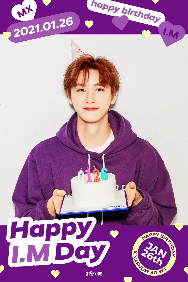 Happy Birthday gorgeous!! I can't wait to see what accomplishments you make this year I know it's going to be amazing for you!! It's too early for me to drink but I will definitely cheers to you later! Love you so much ♡♡ #HBDtoIM #HappyCHANGKYUNday #HAPPYIMDAY ♡♡♡
