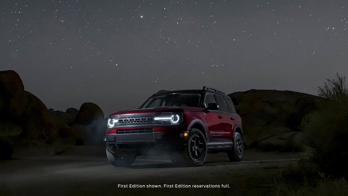 When the going gets tough, the Bronco Sport keeps going. Every Bronco Sport has a High-Performance, Off-Road, Stability, Suspension System (H.O.S.S.) optimized to help drivers maintain vehicle composure while taking on rugged terrain. #Ford #FordBronco