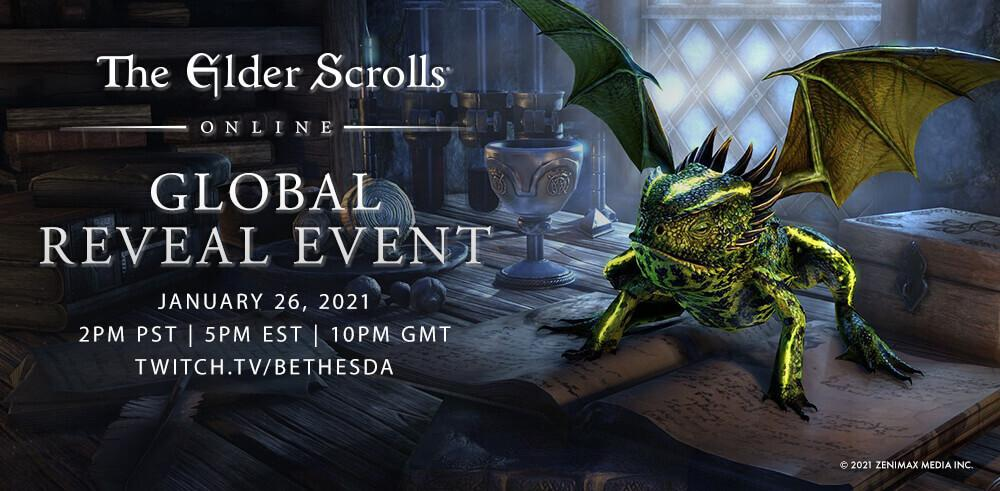 The @TESOnline Global Reveal Event kicks off live tomorrow at 5PM EST! Tune in to see the reveal of this year's Chapter and year-long adventure.  #GatesOfOblivion