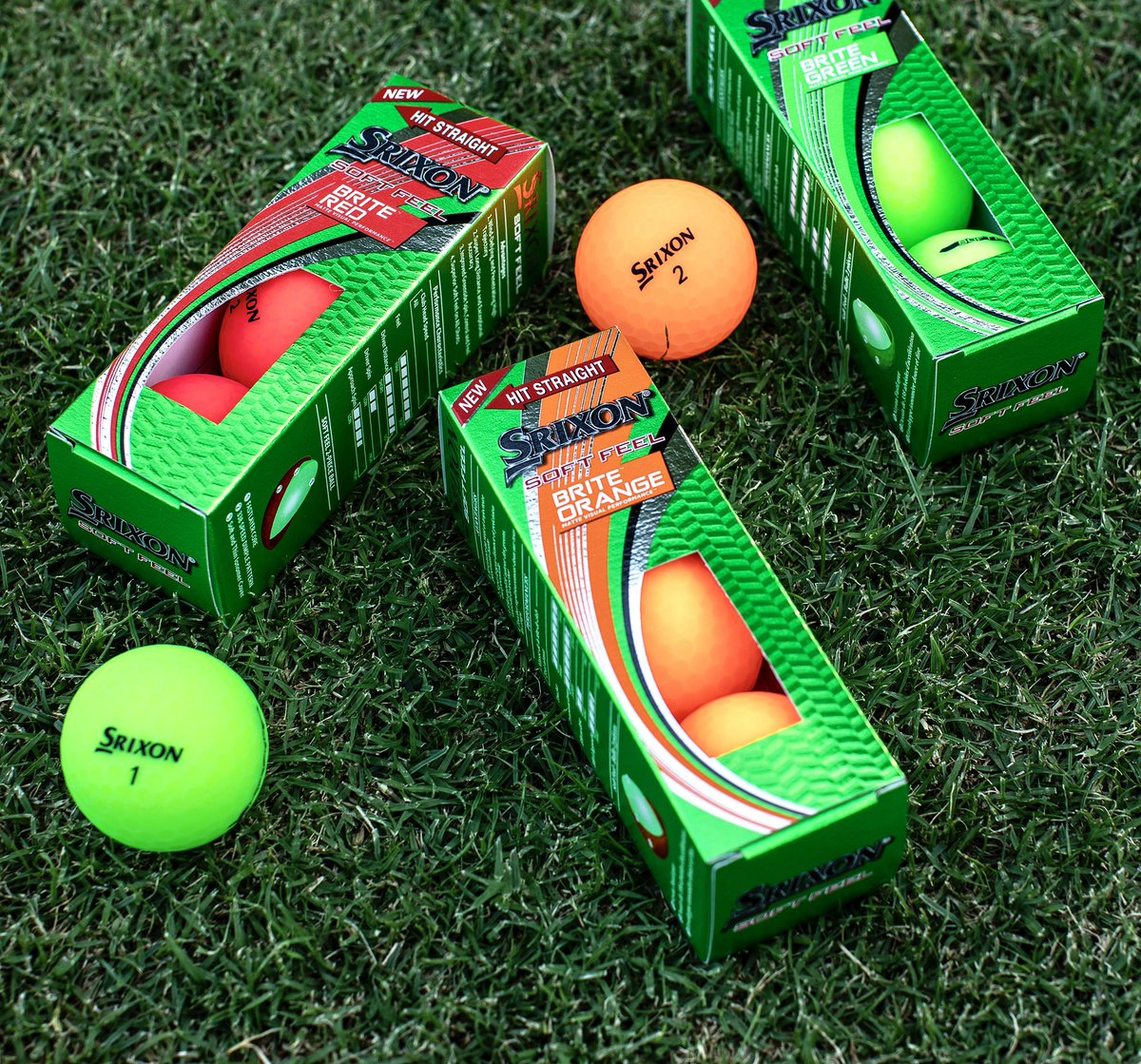 Replying to @SrixonGolf: Same great performance as Soft Feel, just BRITE(R).
