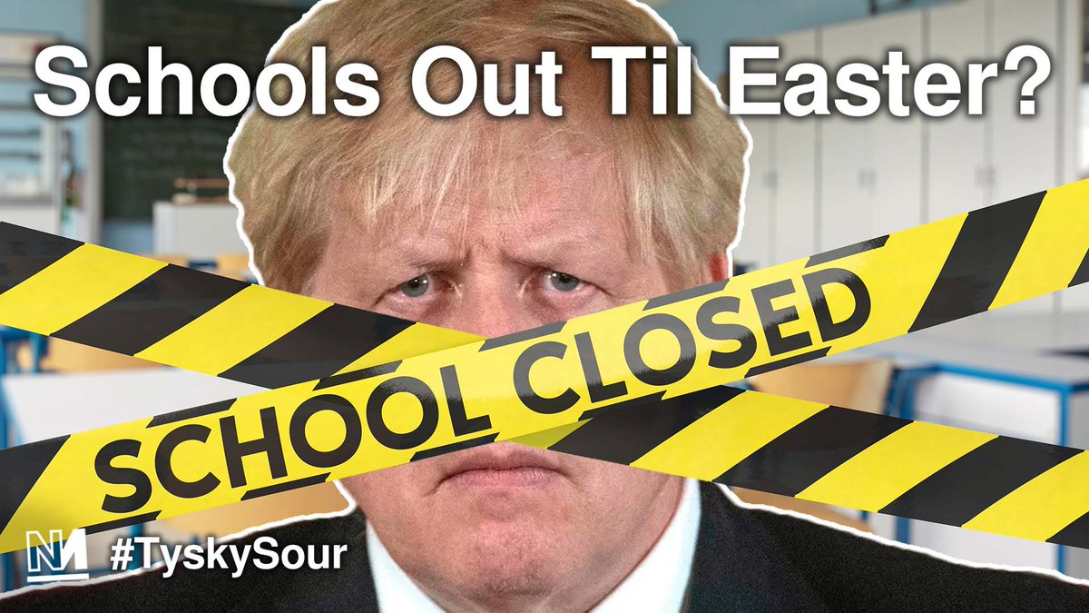 Government briefings suggest schools will stay closed until Easter. Is this a policy progressives should support? On tonights #TyskySour we speak to primary school teacher @chlmao LIVE at 7PM 👇👇👇 novara.media/schoolsout