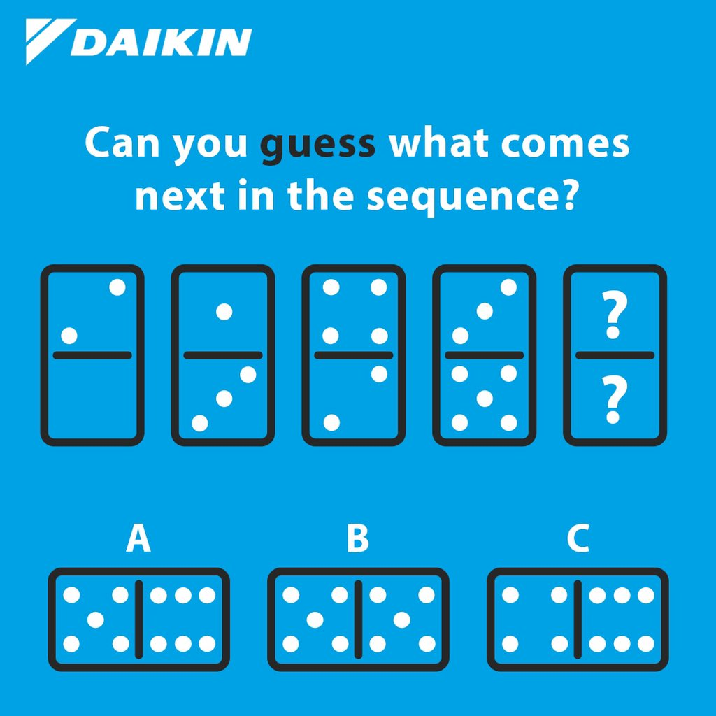 It's that time of the week again! Time to get your brain working after the weekend! See if you can figure out our new brain teaser?!   Be sure to tag your friends and colleagues!!   #daikin #daikinIreland #brainteaser #mondaymotivation #puzzle #fun #daikinfamily #daikineurope