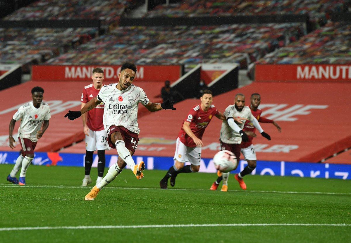 🚨 @Arsenal v @ManUtd programme now available 🚨  ⌛️Order before Thursday for delivery on matchday  🔴⚪️Featuring @m8arteta @Aubameyang7 @Bernd_Leno @DavidLuiz_4 @ThierryHenry & Alex Kirk