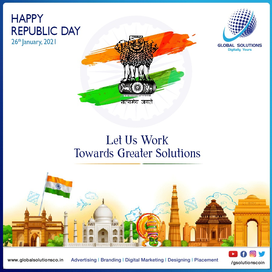 Let us work towards Greater Solutions . . #republicday #india #indian #photography #happyrepublicday #republicdayindia #love #national #republic #jaihind