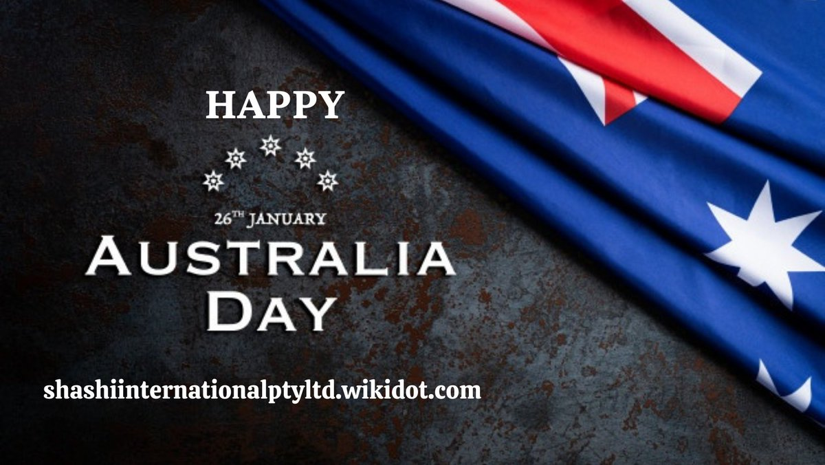 Wishing a very Happy Australia Day to everyone. Let us take our nation to new heights with our efforts and hard work. #australia #celebration #wishes #FestiveSeason #australiaday #australia #australian #aussie  #AustraliaDayJan26