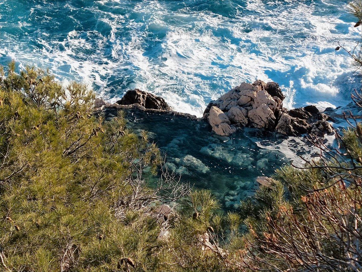 #MondayMotivation : une piscine naturelle 💧 le long du sentier du Cap de #Nice06 ! #ILoveNice #ExploreNiceCotedAzur #JeRedécouvreLaFrance #CotedAzurFrance #OnATousBesoinDuSud #OnATousBesoindeNiceCotedAzur