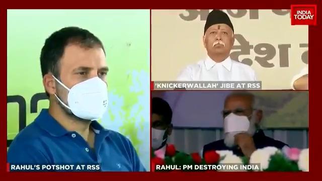 Congress MP Rahul Gandhi attacks PM Modi, RSS. BJP hits back.  #ITVideo #Congress #BJP #RahulGandhi