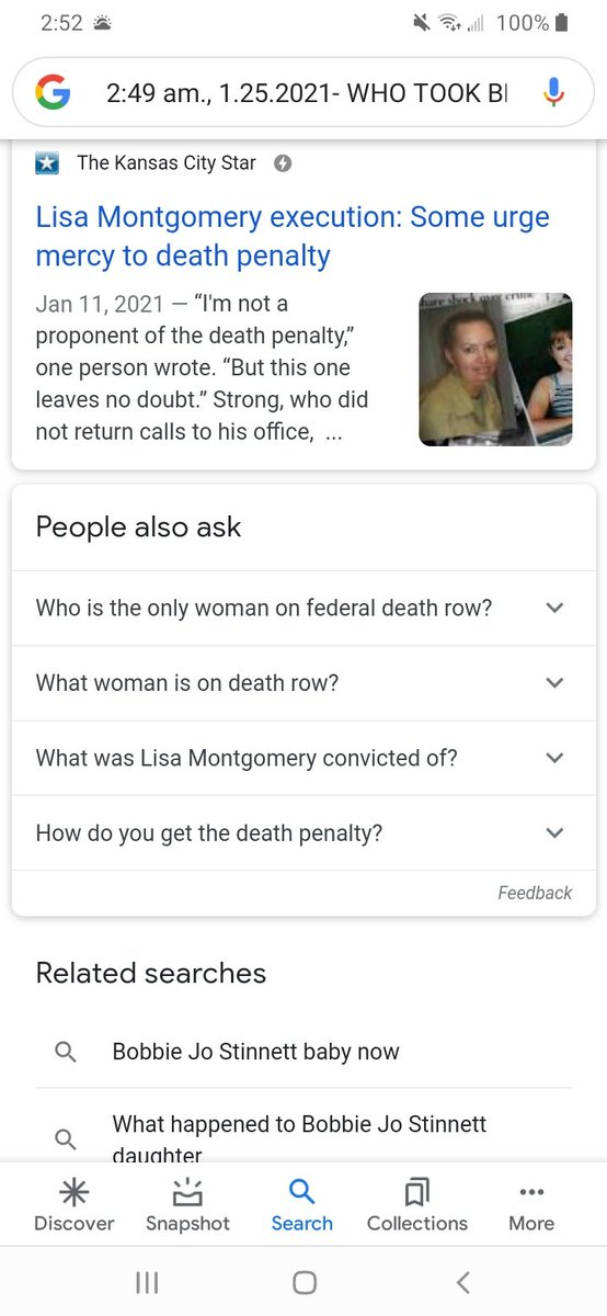 2:49 am., 1.25.2021-  ☆WHO TOOK BRIBE MONEY, TO ☆ONLY EXECUTE LISA ☆MONTGOMERY'S BODY, WITHOUT ☆HER C'QUI?  ☆EPSTEIN, FERNANDEZ, DAHMER...  ☆All POLICE BRUH TAX STEALING. https://t.co/c3TvNTGJ0t