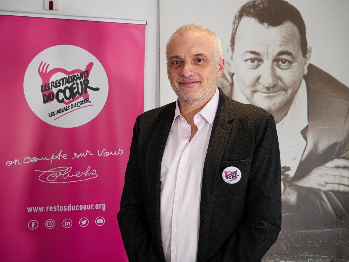 Patrice Douret a été élu le 22 janvier 2021, nouveau Président bénévole de l'Association Nationale des Restos du Cœur.