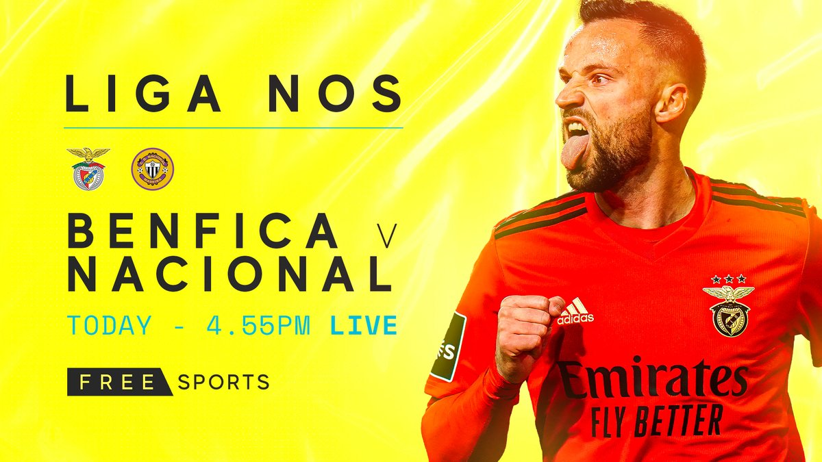 Live 𝗟𝗶𝗴𝗮 𝗡𝗼𝘀 today 😍  🇵🇹 𝗕𝗲𝗻𝗳𝗶𝗰𝗮 𝘃 𝗡𝗮𝗰𝗶𝗼𝗻𝗮𝗹 - live from 4.55pm on FreeSports!
