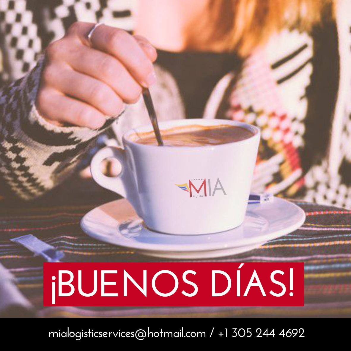 Sólo regala un saludo y verás que recibirás muchas alegrías por la mañana #MIA_Logistic . CONTACTO 📱+1 305 244 4692 . #courierservices #courier #delivery #courierservice #logistics #couriers #enviosmaritimos #enviosaereos #enviosavenezuela #venezuela #envios #miami #florida #usa