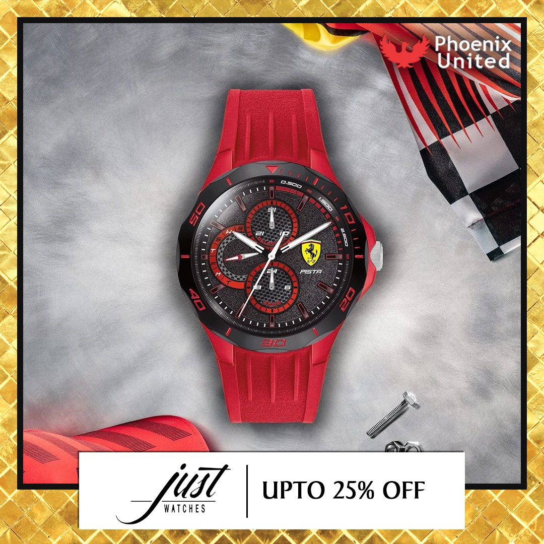 It's the best time to feel your love for #watches. Head to Phoenix United & shop at @justwatches_in this #EOSS. #justwatches #watches #gowithtrend #exclusivedesigns #fashionwatches #Sale #SaleOffer #discounts #saleislive #ShopNow #shopping #shoppingtime #PhoenixUnitedBareilly