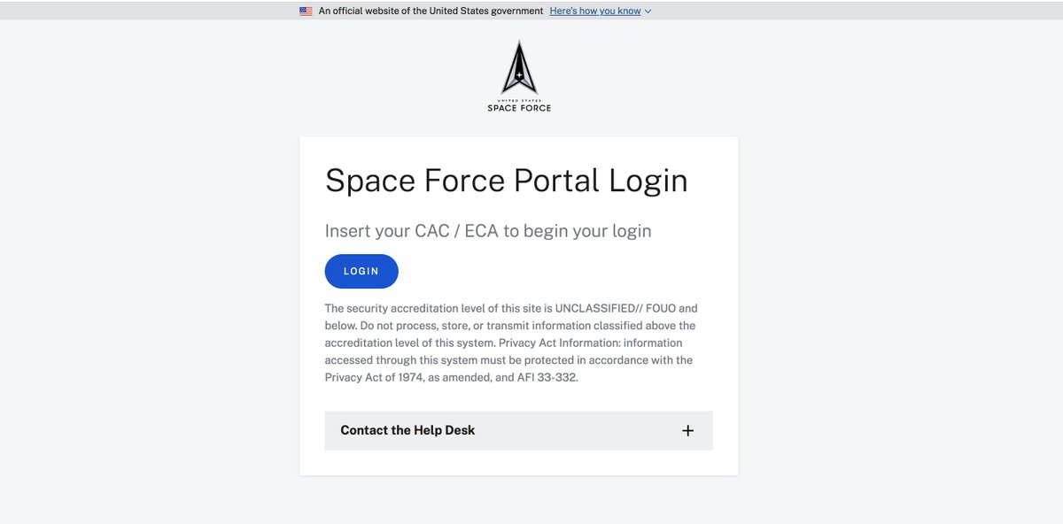 #Guardians, the Space Force portal is open! See all the helpful links and get spun up on the knowledge now:
