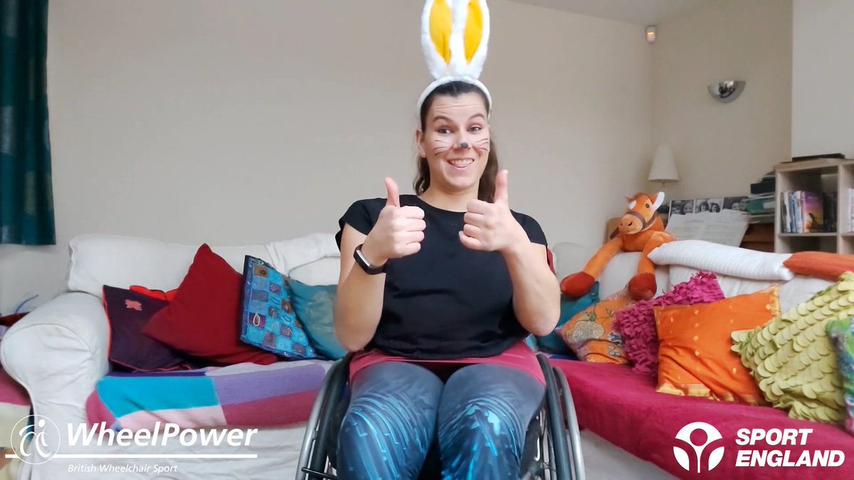 It's time to transform into your favourite animal with this new WheelPower Workout for primary aged children 🐵🐇 No equipment is needed to enjoy this 20-minute class, but if you would like to dress up like @ellabeaumonnt then please do!  #MondayMotivation