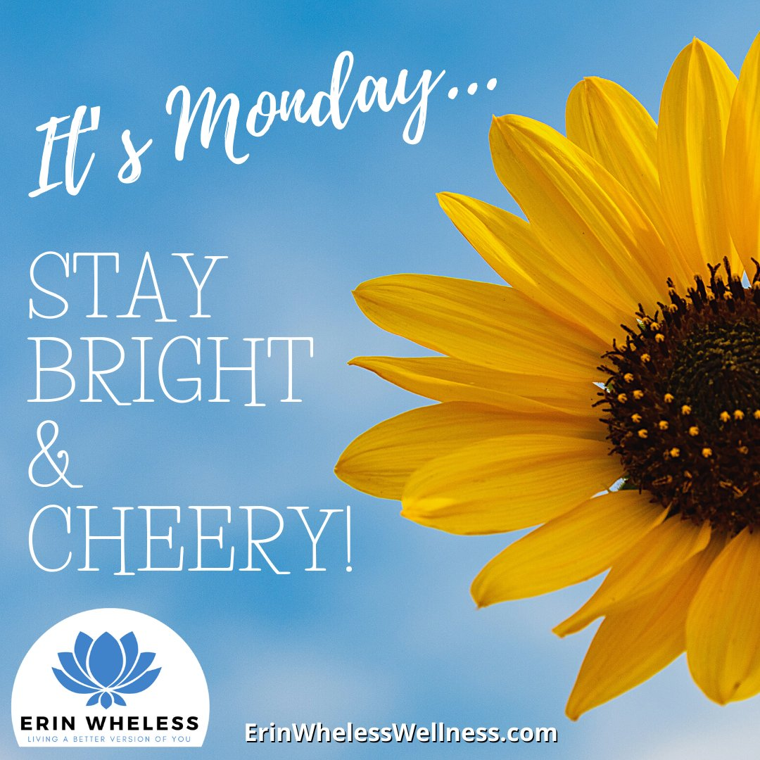 It's Monday, a NEW Day & a NEW Week to a Fresh Start! Today sets the tone for the rest of the week, so make it a POSITIVE & a GREAT One! SMILE & BELIEVE IN YOURSELF. You've Got this! #mondaymotivation #mondayvibes #mindsetmonday #mindsetcoach #happymonday #tgim