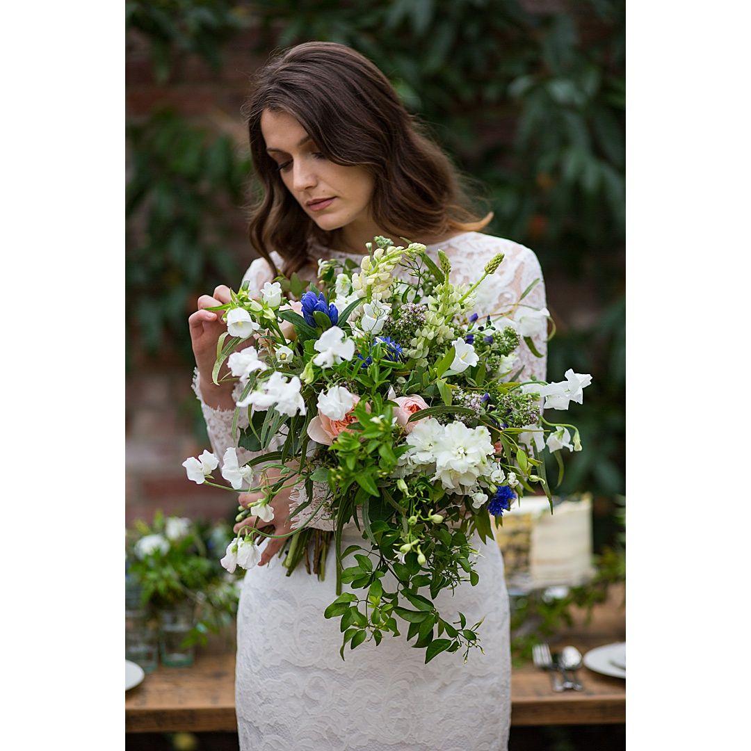 Dramatic florals by The Velvet Daisy #brandshoot for The Deer Park Country House. . . . . . #weddingbrand #weddingvenue #bridalstyledshoot #styledshoot #brandphotographer #bridalbrandshoot #brandidentity #wedding #bridalbrand