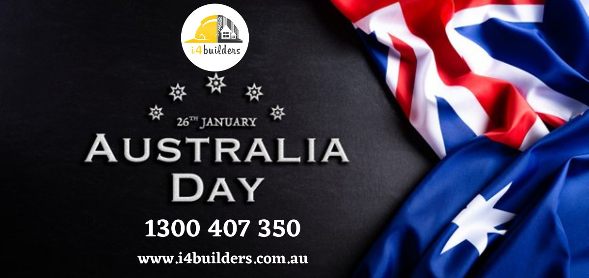Let's celebrate the day of our glorious nation Happy Australia day  #Australiaday #Australiaday2021 #celebrateAustraliaday  #i4builders #Australia #melbourne #celebration #ArchitectMelbourne #wishes #FestiveSeason #australiaday #australia #australian #aussie #aussiehome
