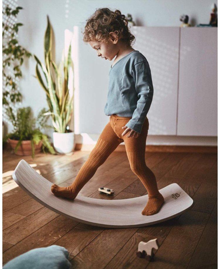 New Wooden Balance Board  #MondayMotivation