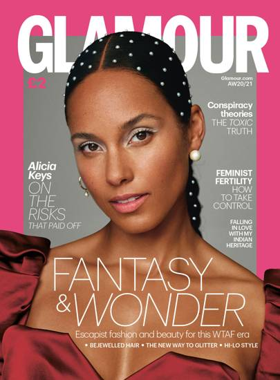 Happy 40th Birthday to Alicia Keys!!!  [photo cred: GLAMOUR UK\s Autumn/Winter 2020 Cover Star   Glamour UK]