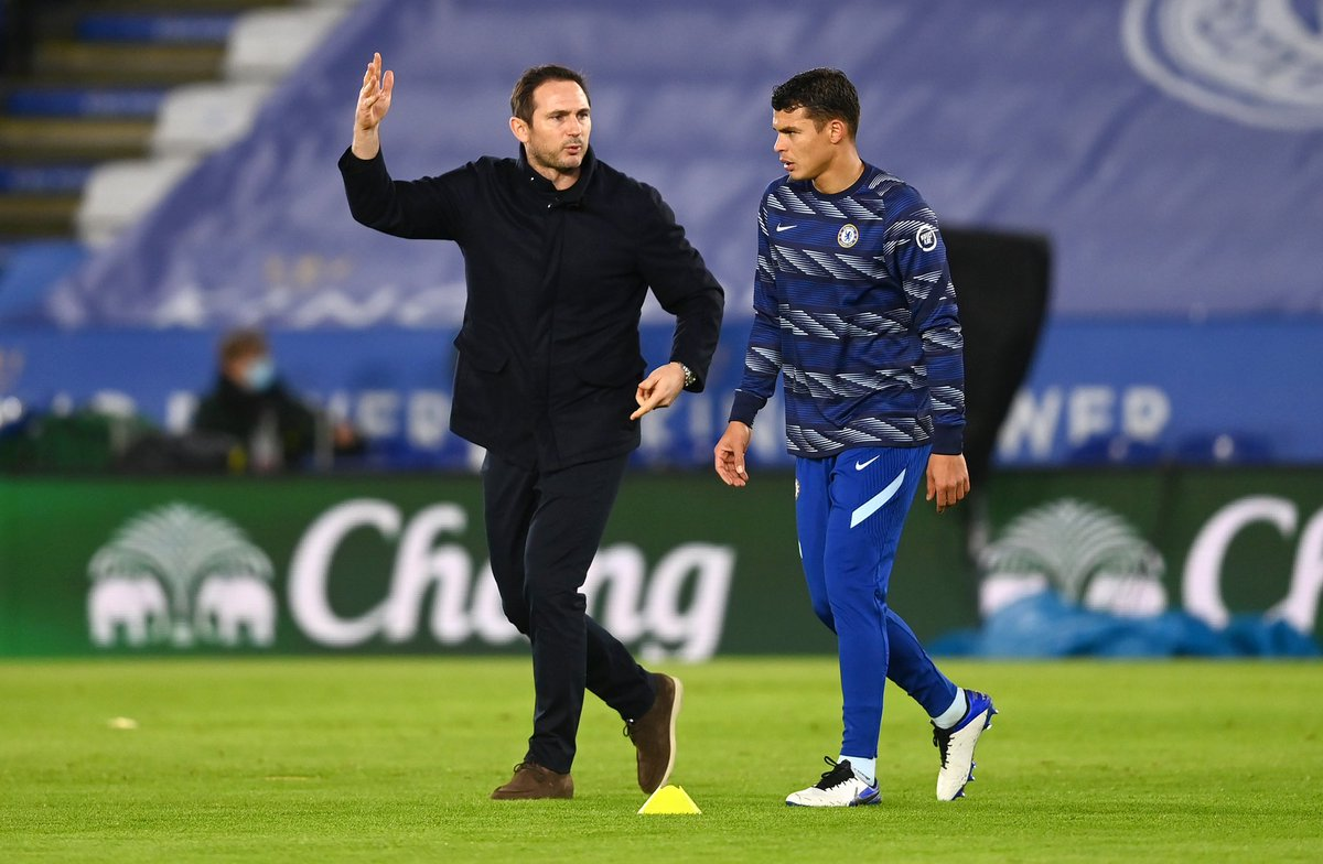 I would like to thank you for everything you and your committee have done for me since the day I arrived.  As I told you, it seemed like we had been working together for 10 years!! Thank you very much for everything legend . #FrankLampard #legend 💙💙