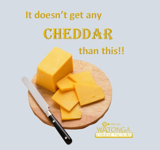 • CHEESE PLEASE • You can't beat a good Cheddar, right?  Hey, what's your favorite cheese? 🧀 Watonga Cheese Factory - (806) 648-4310  . . #watongacheese #mondaymotivation #cheddar #cheese #cheddar #cheesequotes #cheesequote #cheesemaker #cheesefactory