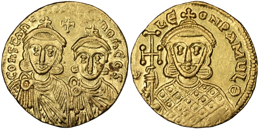 #OnThisDay in 750CE the Byzantine emperor Leo IV, known as 'the Khazar', is born. A capable commander, Leo would reign for 5 years before dying of tuberculosis whilst on campaign against the Abbasid Caliphate. #Classics #Byzantium