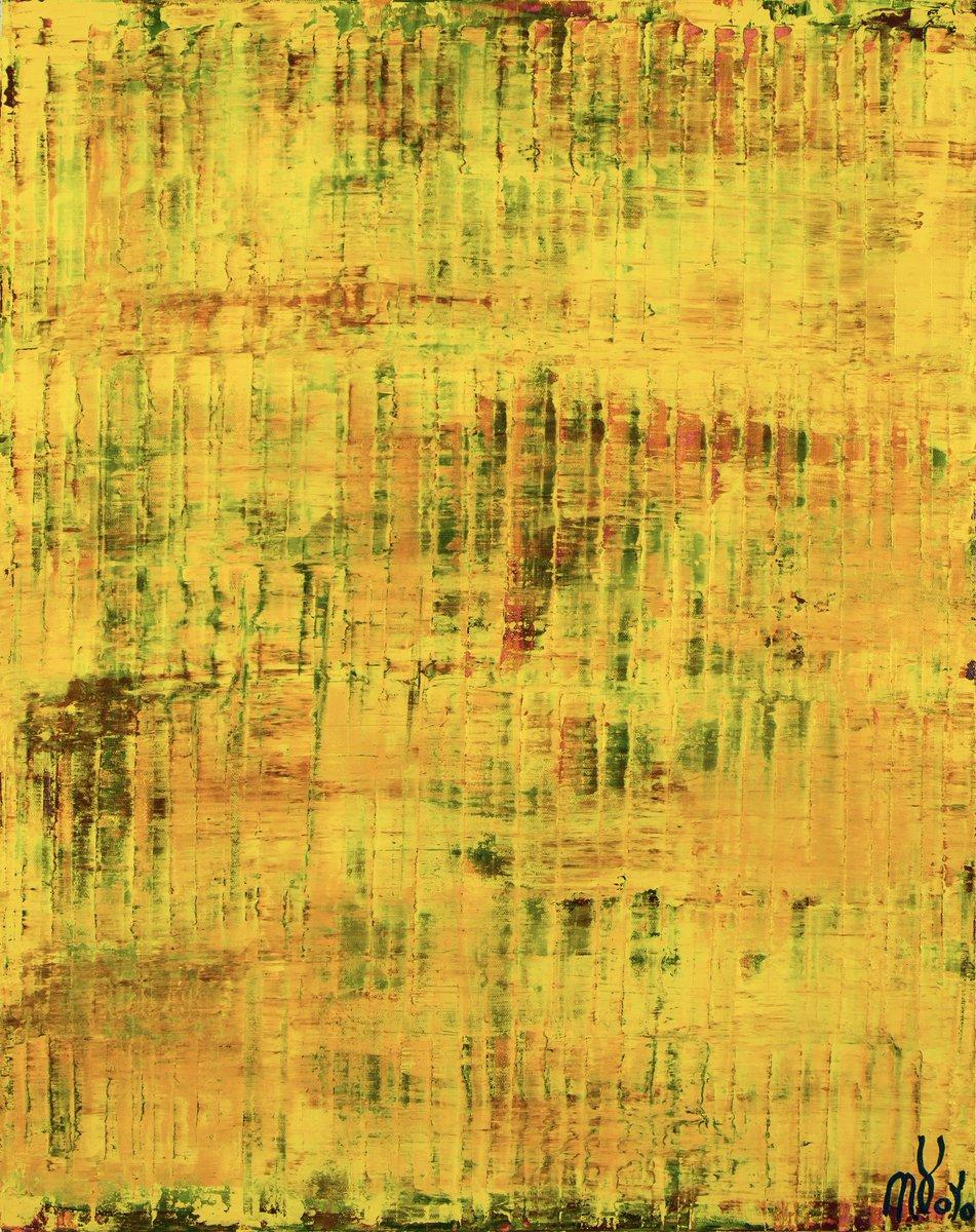 Yellow reunion (Lost lights) 24 W x 30 H x 0.7 D in Available @NestorToroArt     #artistsontwitter #Artist #art #ContemporaryArt #MondayMorning #Online