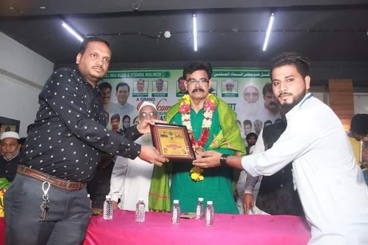 Today Pic's #AIMIM Bihar MLA's Or AIMIM Mumbai President #FaiyazAhmedKhan Saheb Ne #Dharavi Me Rakhe Gaye Welcome Programme Me Shirkat Ki.