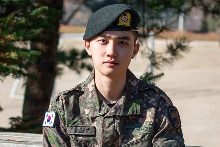 Replying to @soompi: #EXO's #DO Shares Sweet Message After Discharge From Military Service
