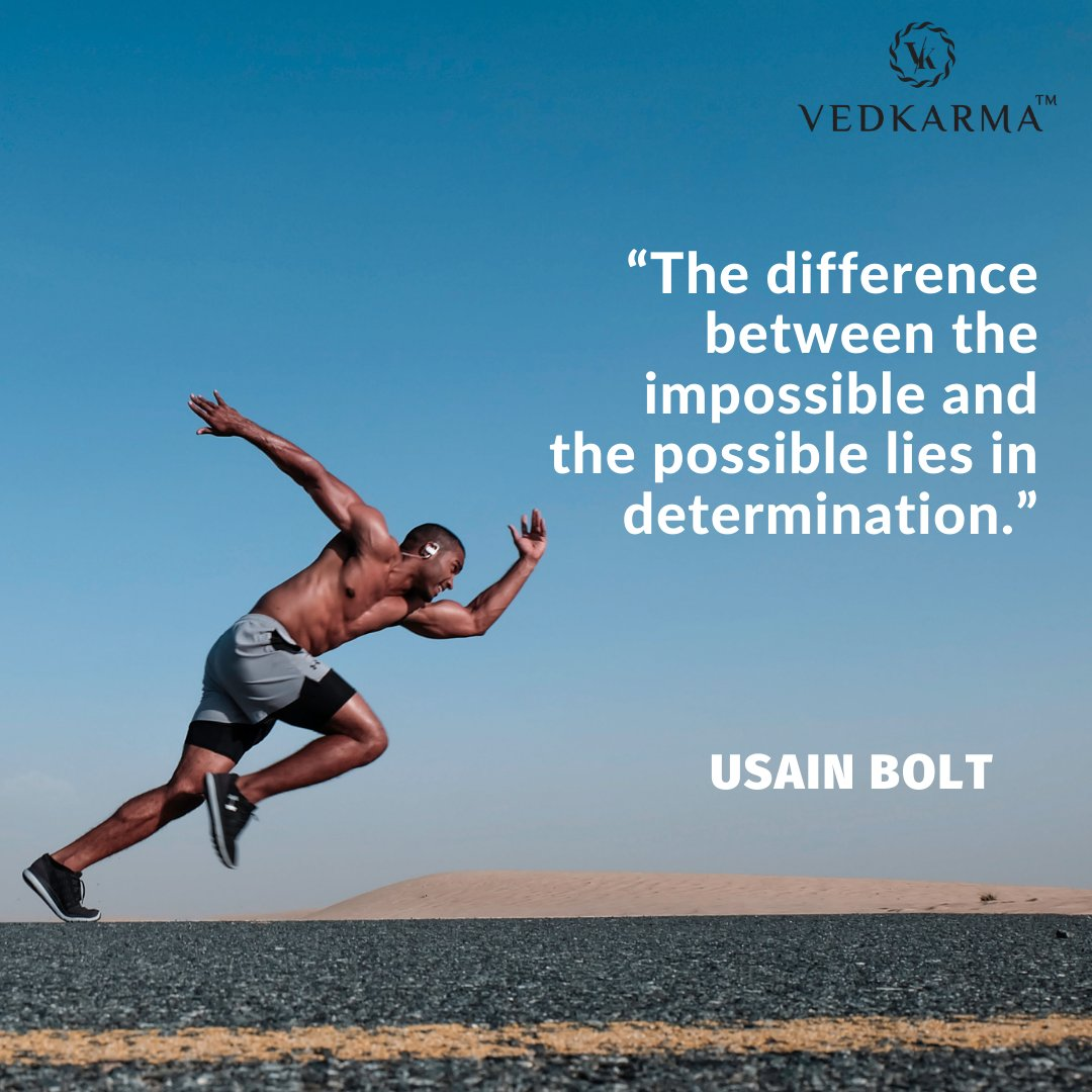The difference between the impossible and the possible lies in determination.  #MondayMotivation #Health #Fitness #StayHealthy #BeFit #HealthyLifeStyle #Ayurveda #Shilajit #Vedkarma #Myvedkarma