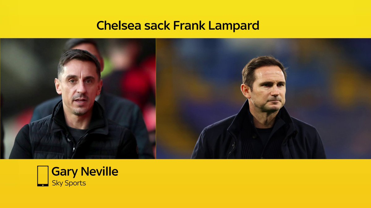 "🗣""He will be exposed to the same rules as Frank, and we will be talking about him being let go in the next 2 years, I'm sure of that""   @GNev2 thinks that Thomas Tuchel could go through the same experience that most managers do at Chelsea"