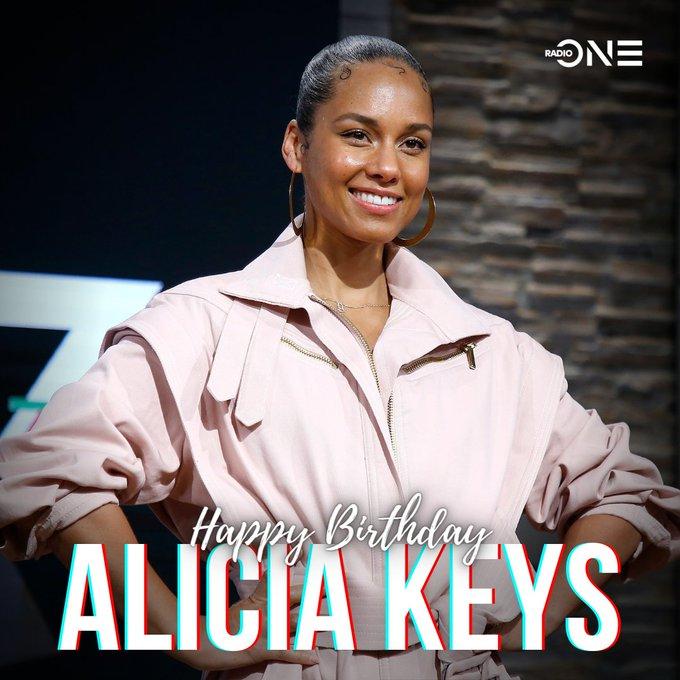 Happy 40th birthday Alicia Keys!