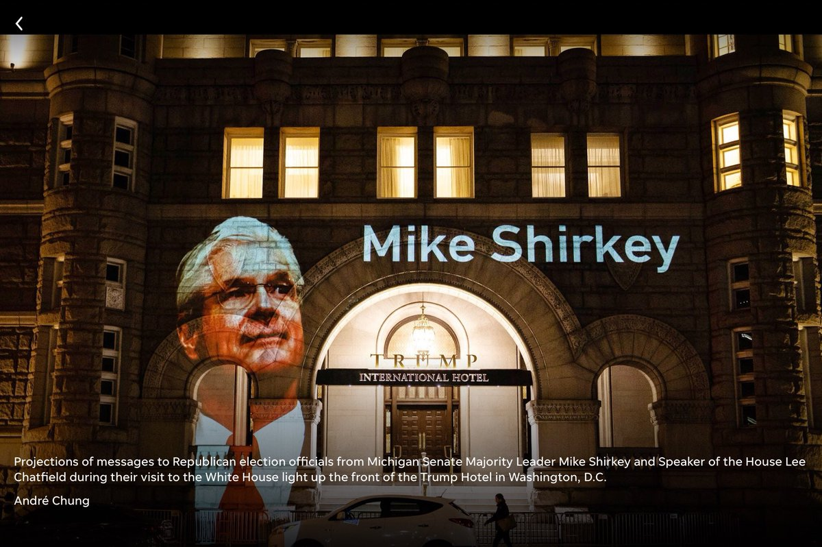 #JasonWentworth @SenMikeShirkey @MI_Republicans Jason evaded questions re:his attendance to a trump command to visit WH. A month after this visit, 147 DC Legis. #Republicans sided w/ #CapitalInsurrectionists.