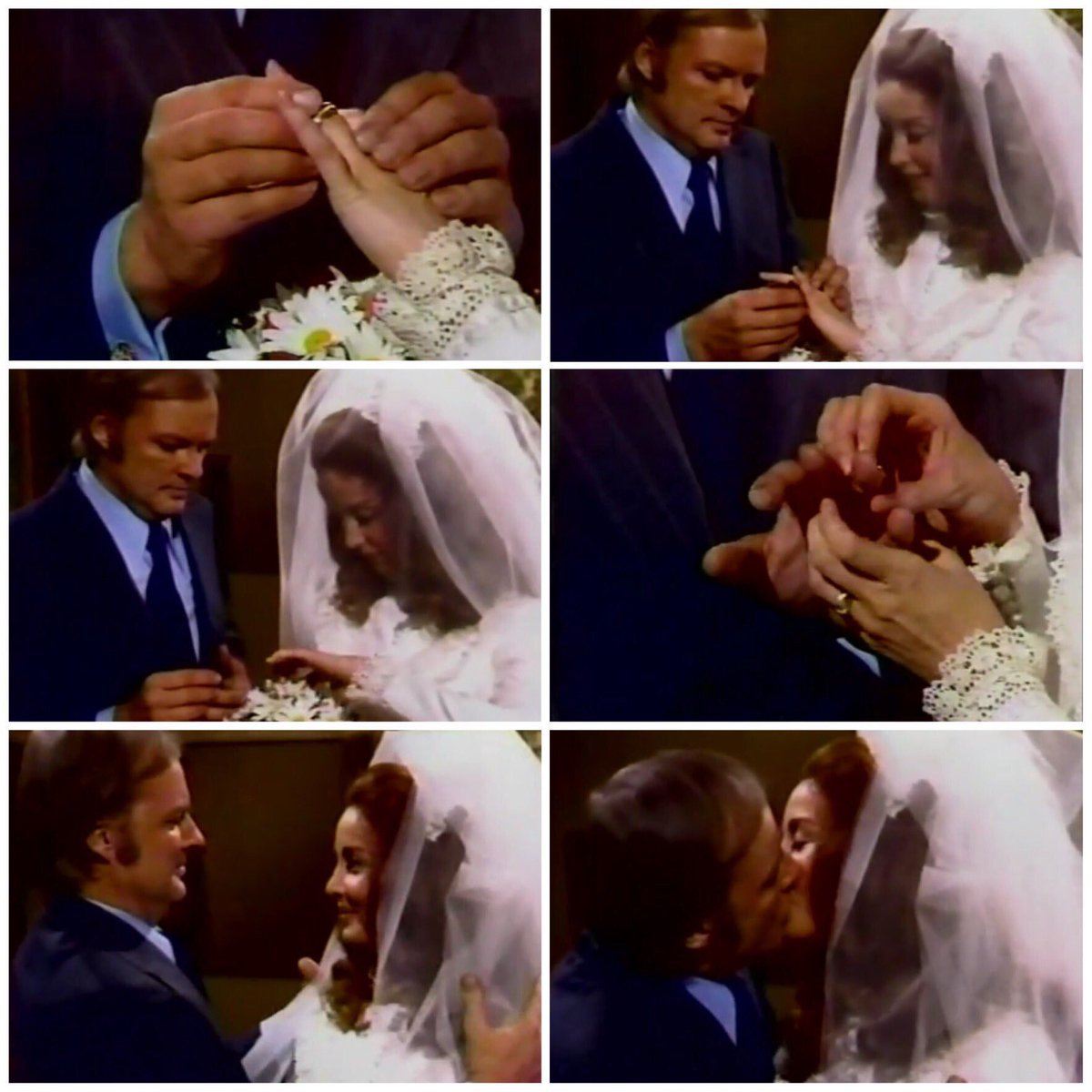 #OnThisDay in 1974, Mickey and Maggie got married; Mickey was known as Marty Hansen at the time as he had amnesia #ClassicDays #Days