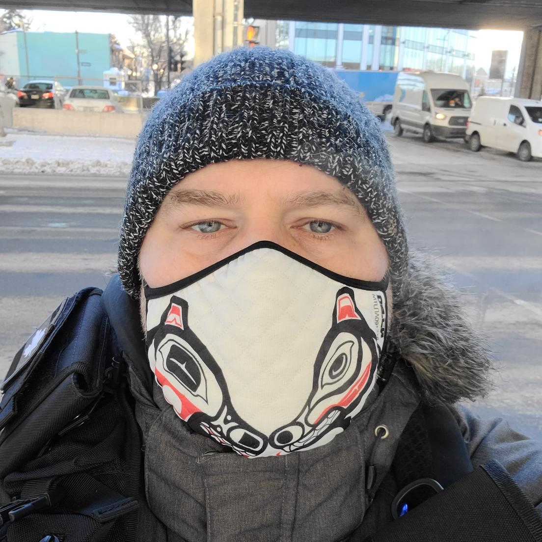 It's #Monday, people... Get your ass up and out into the (literal) cold world!! #MaskUp #WearAMask #COVID19
