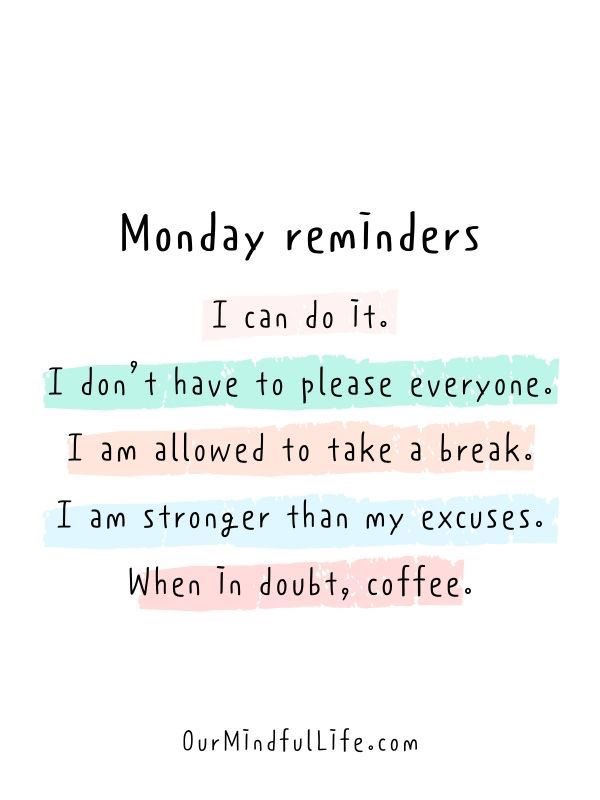 Monday's are lame! But let's remember to take care of ourselves. ❤️ #mondaythoughts #MondayMotivation #MondayMorning #MotivationalQuotes #MentalHealthAwareness #mentalhealthmatters
