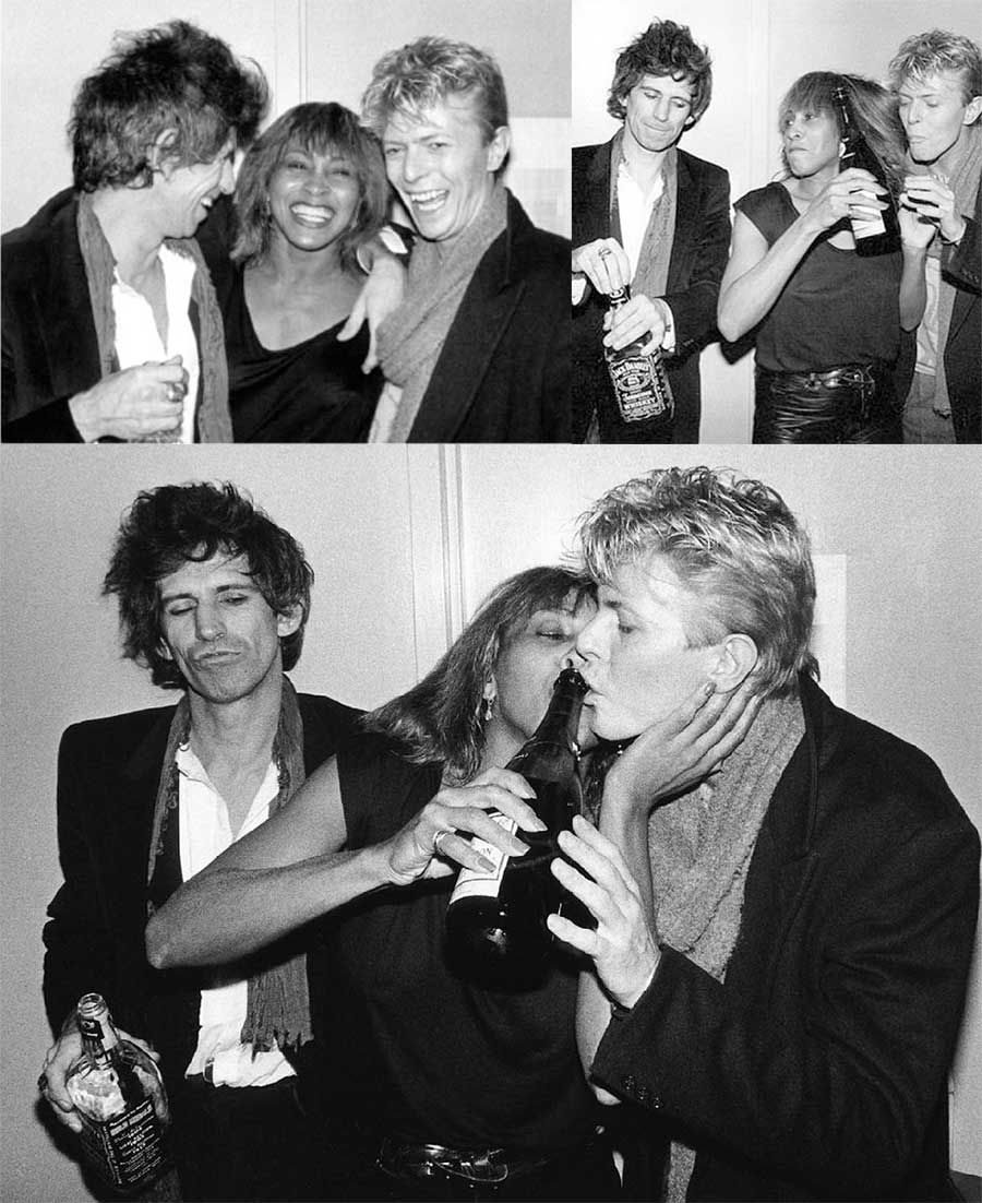 RT @Laura2041634733: Keith Richards,Tina turner, David Bowie. Now that would be some party!! https://t.co/TJIp26NSHV