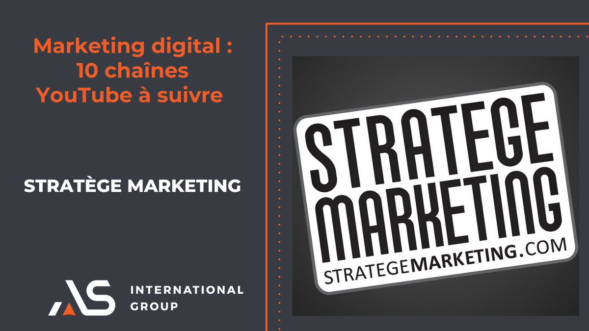 #MondayMotivation On vous propose de suivre les actualités du #marketingdigital avec ces 4 chaines #Youtube. Au programme : #stratégie, #SEO, #entrepreneuriat, #blog, #emailing... #MlleWebMarketing #Webmarketingtuto #startupfood #StrategeMarketing