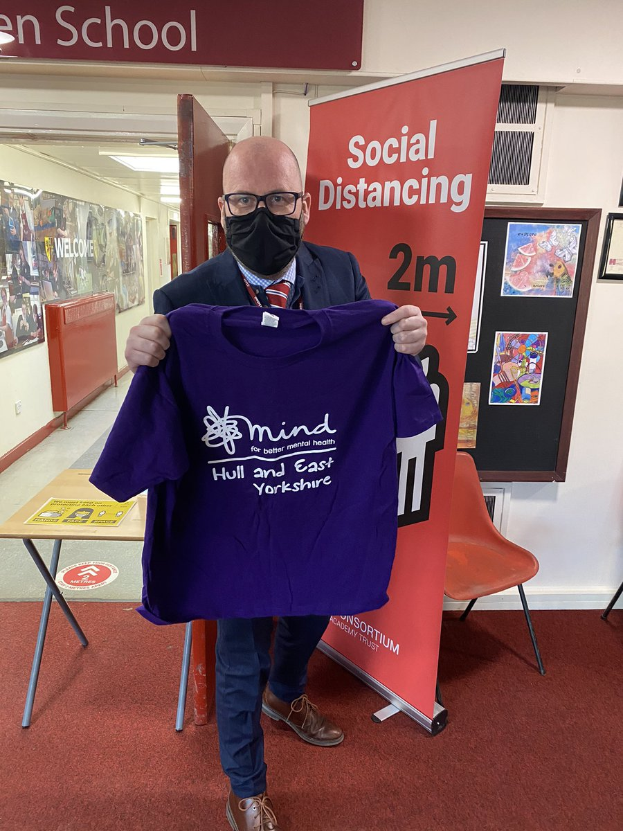 Our t-shirts have arrived and we're getting closer to the Yorkshire 3 Peaks challenge in May. Staff will be raising funds for @MindHEY and have already started training hard to make sure it's a success! #TeamHowden #InThisTogether #MondayMotivation