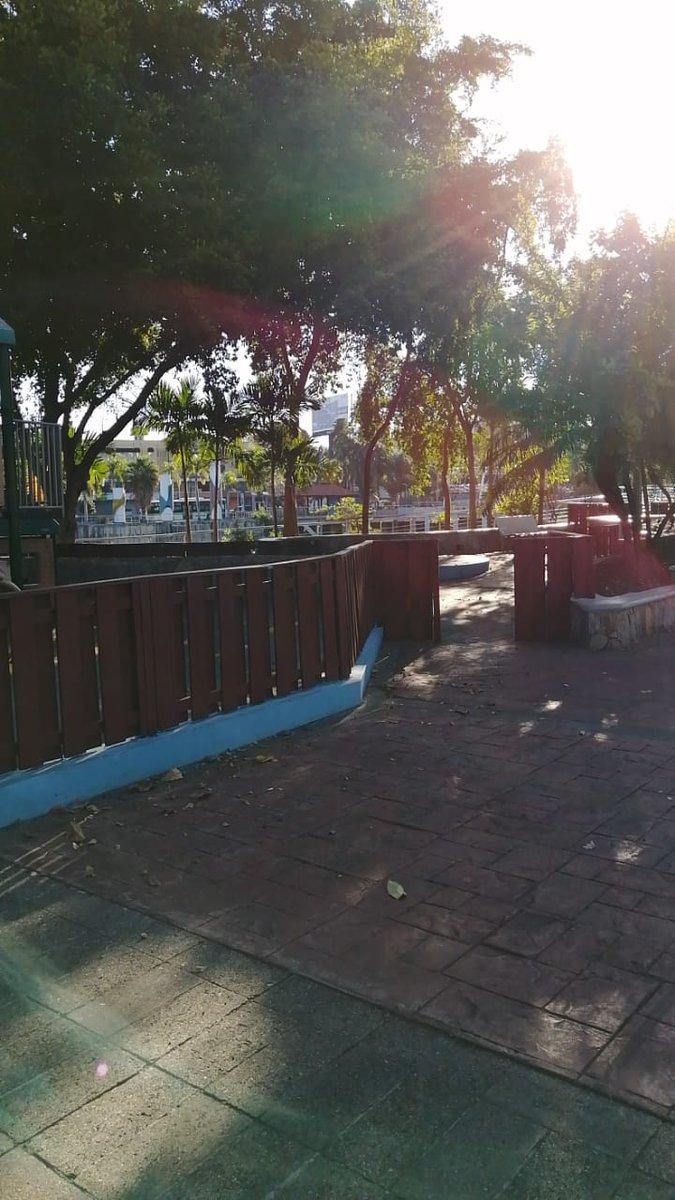 #BuenosDias hermosa mañana aprovechando para hacer ejercicios en el Parque de la Núñez de Cáceres #morningmotivation #jogging #exercise #outdoors #sightings  #SDQ #RepublicaDominicana 🇩🇴