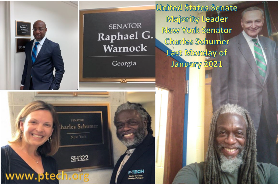 Last #Monday of January 2021 Congratulations @SenatorWarnock @ReverendWarnock @SenSchumer @jencrozier @rashidfdavis #ptech #weareptech #mondaythoughts #MotivationMonday #MotivationalMonday #leadership #learning #georgia #newyork
