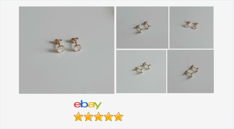 Brand New 9ct Yellow Gold and Mother of Pearl 5mm Milled Edge Stud Earrings | eBay #9ct #gold #motherofpearl #stud #earrings #handmade #jewellery #gifts #giftideas #giftsforher #jewelry #accessories #gemstonejewelry #ATSocialUK #giftshop #onlineshopping