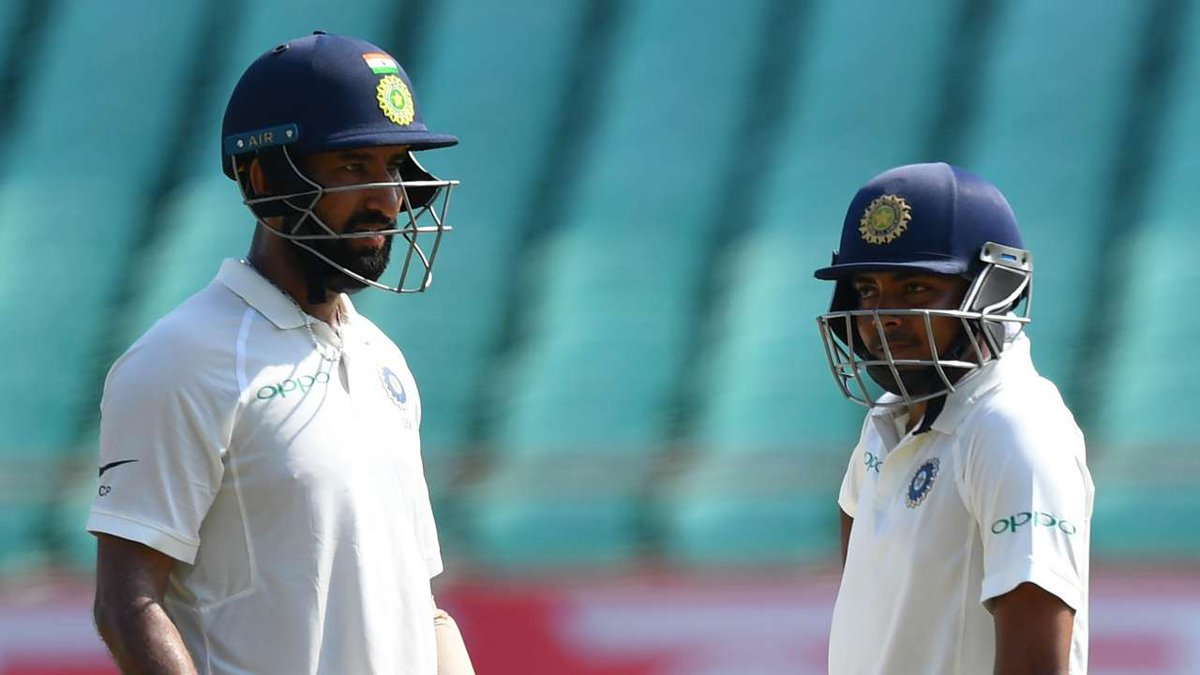 """Happy birthday to the Deewar of our team @cheteshwar1 bhai...Jab naam mae hee """"Puja"""" hai, one doesn't have to look further for inspiration. Wishing you a great year ahead."""