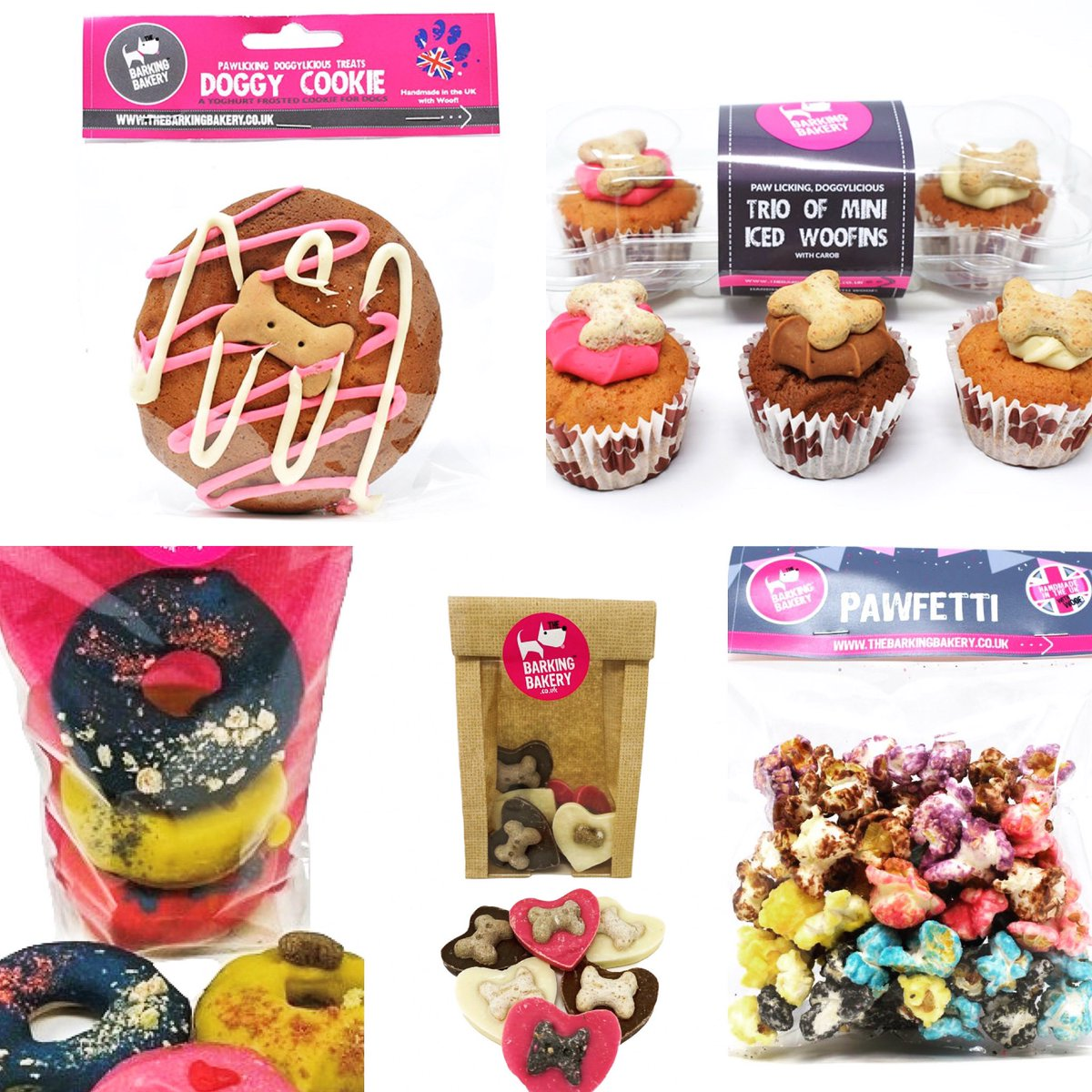 New #Sweet Treat Box 💜 While Stocks Last  #poochboutique #smallbusiness #lovecamberley #shopping #shop #sweettreats #sweettreat #dogtreats #dog #dogs #pooch #doggo #doggy #doggie #doglife #dogsoftwitter #dogsofinstagram  #donuts #cupcakes #cookies #popcorn