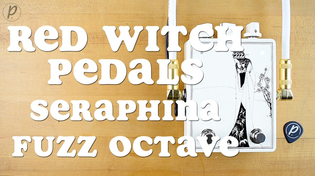NEW DEMO VIDEO: The @RedWitchPedals Seraphina Fuzz Octave     #pedaloftheday #effectspedals #pedalsandeffects #knowyourtone #notpedalbored @reverb #redwitch #seraphina #fuzz #octave #MondayMorning